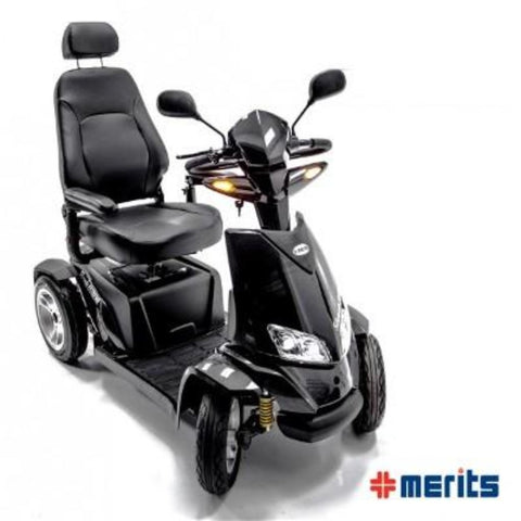 Merits Health Silverado Extreme Mobility Scooter Front View