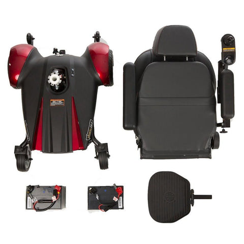 Merits Health Vision CF Power Chair P322A Disassembled For Travel