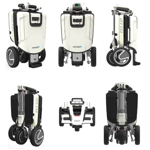 Moving Life Atto Folding Scooter TE-AT01-100-B2-0 All Angles
