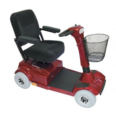 PaceSaver Eclipse Atlas 5 4-Wheel Bariatric Scooter 15087 In Red