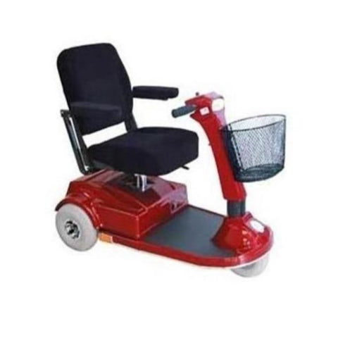 PaceSaver Espree Atlas 3-Wheel Bariatric Scooter 15035 In Red
