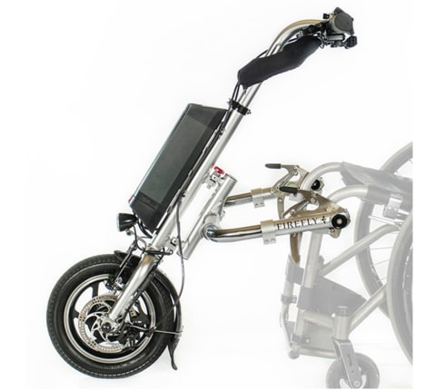Rio Mobility Firefly 2.5 Electric Scooter Attachment Shown Separate From Wheelchair