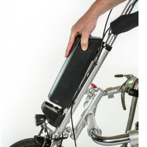 Rio Mobility eDragonfly 2.0 Electric Assisted Handcycle Lithium Battery
