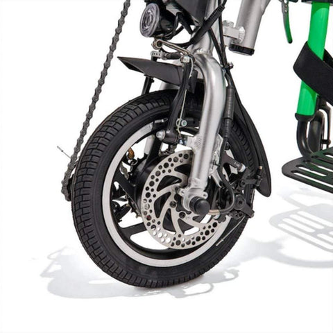 Rio Mobility eDragonfly 2.0 Electric Assisted Handcycle Disk and V-Brake