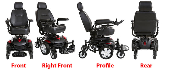 Titan Electric Wheelchair Profile