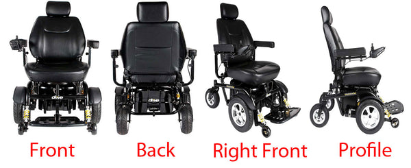 Trident Motorized Wheelchair Profile