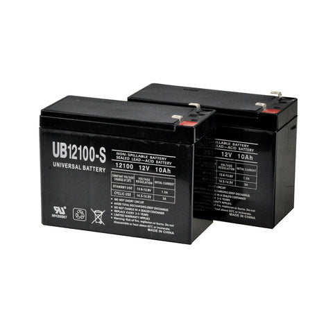 Image of Shoprider SL73 Replacement Battery Set With Battery Box