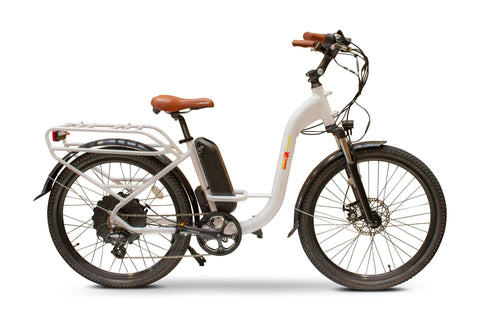 EWheels BAM-Step Thru Electric Powered Bicycle