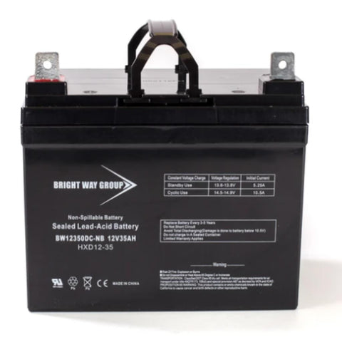 Bright Way Group SCPU1 12V 34AH AGM SLA Battery