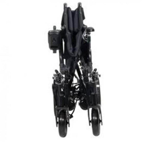 Drive Medical Cirrus Plus EC Folding Power Wheelchair CPNFBA Folded For Transport