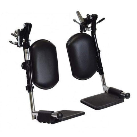 Image of Drive Medical Cirrus Plus EC Folding Power Wheelchair CPNFBA Footrests