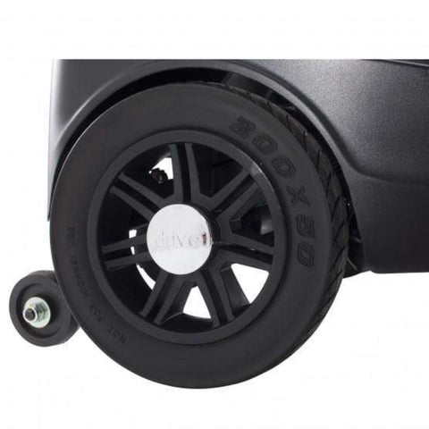 Image of Drive Medical Spitfire Scout 3 Wheel Compact Travel Scooter SFSCOUT3 Rubber Tire