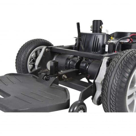 Image of Drive Medical Titan AXS Mid-Wheel Power Wheelchair TITANAXS Drive Mechanics Exposed