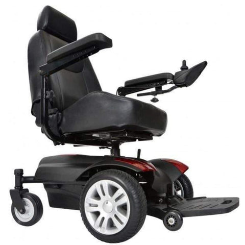 Image of Drive Medical Titan AXS Mid-Wheel Power Wheelchair TITANAXS Right Side View