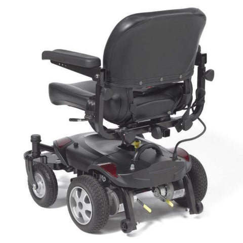 Drive Medical Titan LTE Portable Power Wheelchair TITANLTE-18FS Rear View