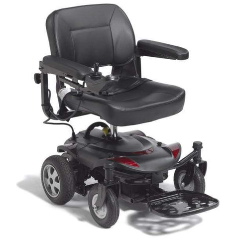 Drive Medical Titan LTE Portable Power Wheelchair TITANLTE-18FS With Comfortable Seat And Large Rear Tires