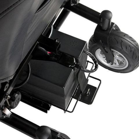 Drive Medical Trident HD Front Wheel Drive Power Wheelchair 2850HD Rear Tires And Battery Box