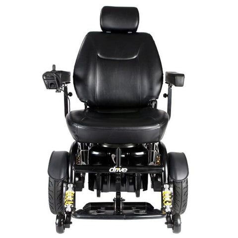 Drive Medical Trident HD Front Wheel Drive Power Wheelchair 2850HD Front View