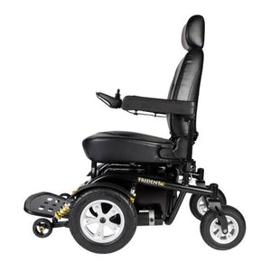 Drive Medical Trident HD Front Wheel Drive Power Wheelchair 2850HD Left Side View