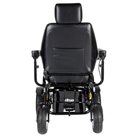 Drive Medical Trident HD Front Wheel Drive Power Wheelchair 2850HD Rear View