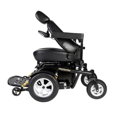 Drive Medical Trident HD Front Wheel Drive Power Wheelchair 2850HD With Seat Folded Forward