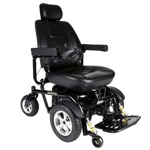 Drive Medical Trident HD Front Wheel Drive Power Wheelchair 2850HD With Comfortable Captain's Seat