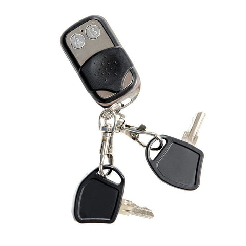 Image of Drive Medical ZooMe Auto-Flex Electric Folding Mobility Scooter FLEX-AUTO Ignition Keys On Key Ring With Buttons For Auto-Folding System