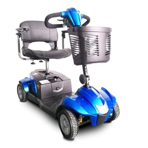 Image of EV Rider CityCruzer Portable 4-Wheel Mobility Scooter In Blue