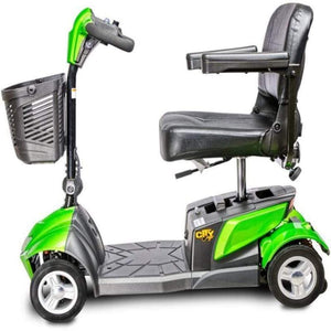 EV Rider CityCruzer Portable 4-Wheel Mobility Scooter In Green