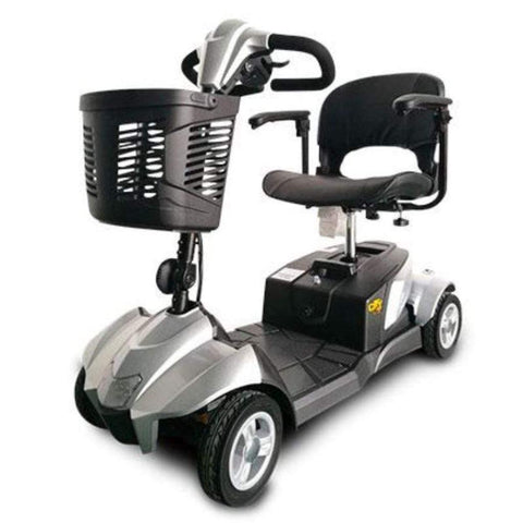 Image of EV Rider CityCruzer Portable 4-Wheel Mobility Scooter In Silver