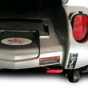 EV Rider CityCruzer Portable 4-Wheel Mobility Scooter Brake Light And Anti-Tip Wheel