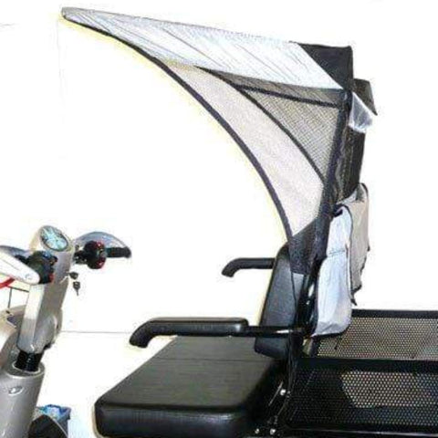 EV Rider Dual Seat Soft Canopy DST-C3420