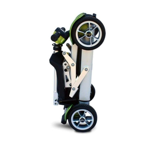 EV Rider Gypsy Compact 4-Wheel Super Lightweight Mobility Scooter Folded Side View