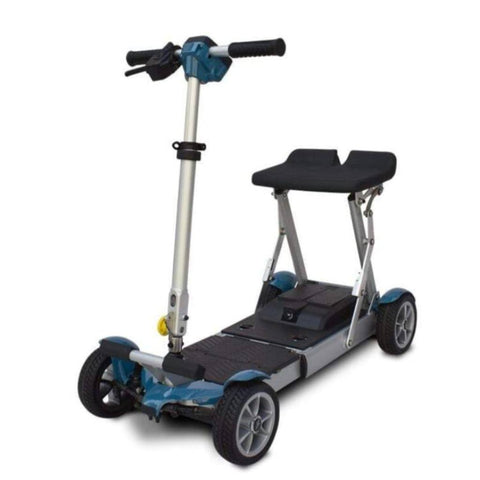 EV Rider Gypsy Compact 4-Wheel Super Lightweight Mobility Scooter In Blue