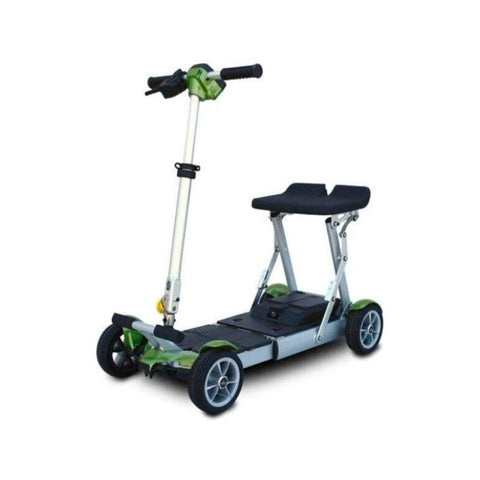 EV Rider Gypsy Compact 4-Wheel Super Lightweight Mobility Scooter In Green