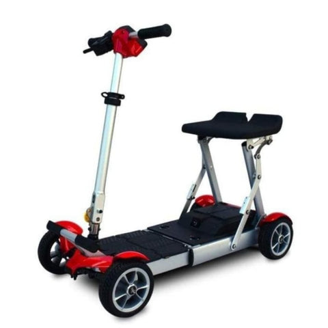EV Rider Gypsy Compact 4-Wheel Super Lightweight Mobility Scooter With Seat Raised