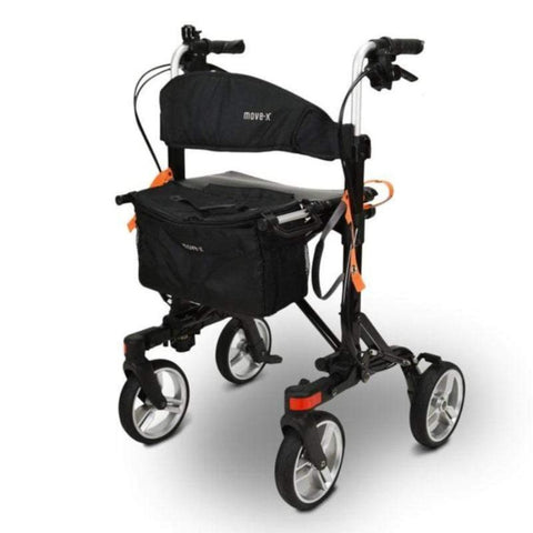 Image of EV Rider Move-X Compact Rollator Folding 4-Wheel Walker RU4131