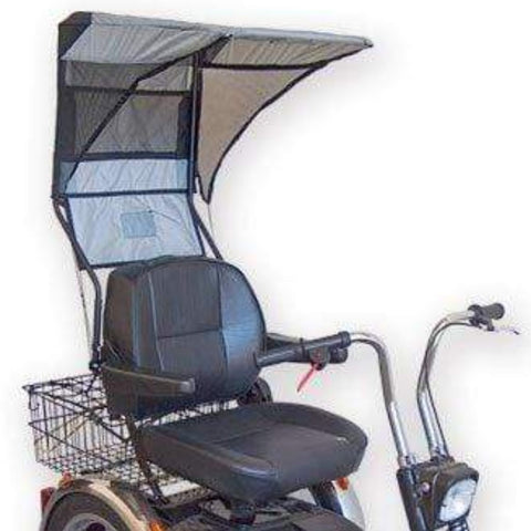 EV Rider Single Seat Soft Canopy DST-C2420