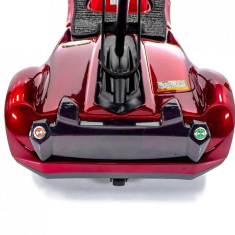 Image of EV Rider Transport M Easy-Folding 4-Wheel Lightweight Mobility Scooter S19M Rear View Of Brake Lights