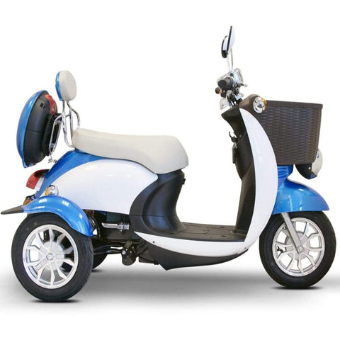 EWheels EW-11 Euro Mobility Scooter 3 Wheels With High Clearance Rubber Tires