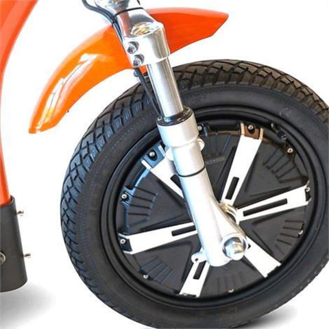 EWheels EW-18 TURBO 3-Wheel Scooter Large Front Wheel