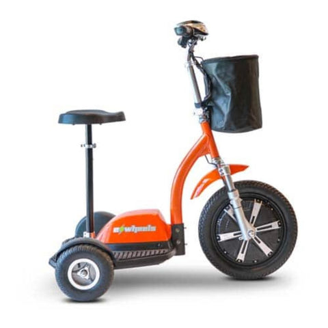 EWheels EW-18 TURBO 3-Wheel Scooter With Small Rear Wheels