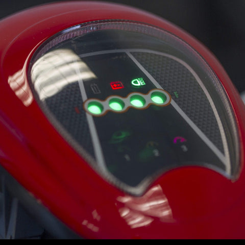Image of EWheels EW-19 Sporty Mobility Scooter Power And Battery Indicators
