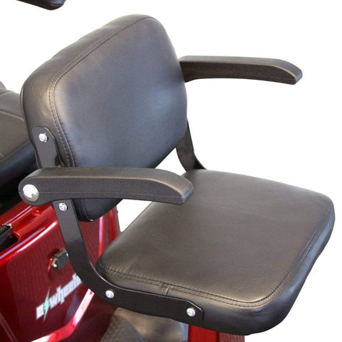 EWheels EW-66 2-Passenger Heavy-Duty Bariatric Scooter Driver's Seat