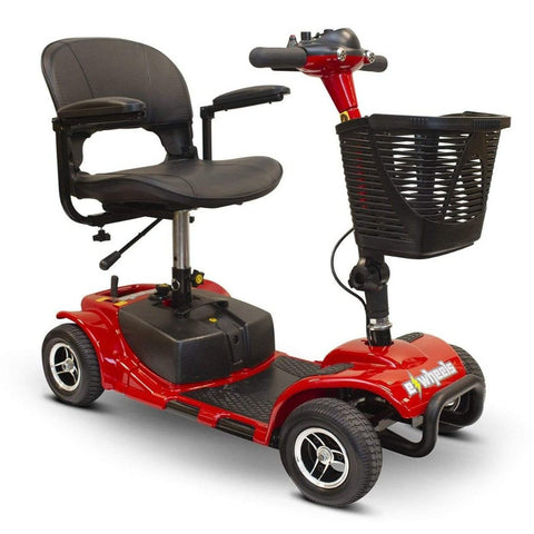 Image of EWheels EW-M34 Portable 4 Wheel Travel Mobility Scooter Right Side View