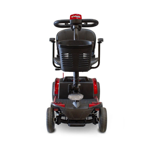Image of EWheels EW-M50 Extended Range Travel Scooter 4 Wheels Front Basket And Front Tiller Light