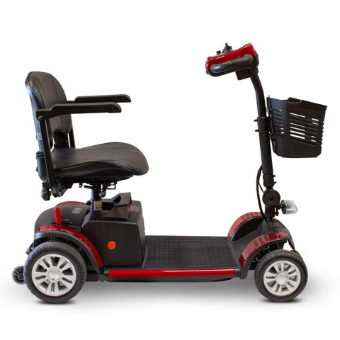 EWheels EW-M50 Extended Range Travel Scooter 4 Wheels With Folding Armrests