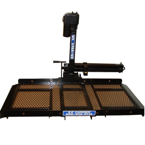 EZ Auto Fold Up Electric Lift EZCLA3 With Plank Attached To Bottom