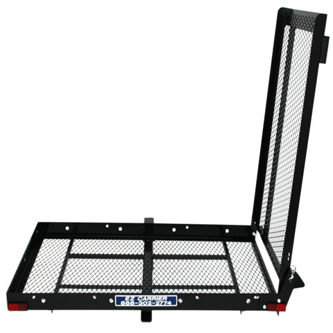 Image of EZ Carrier Manual Carrier Height-Adjustable Model 3 EZC-3 With Ramp Raised