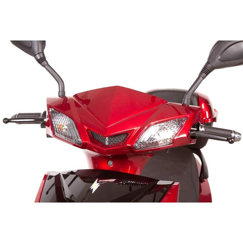 EWheels EW-10 Sport 3-Wheel Scooter Front Lights And Turn Signals